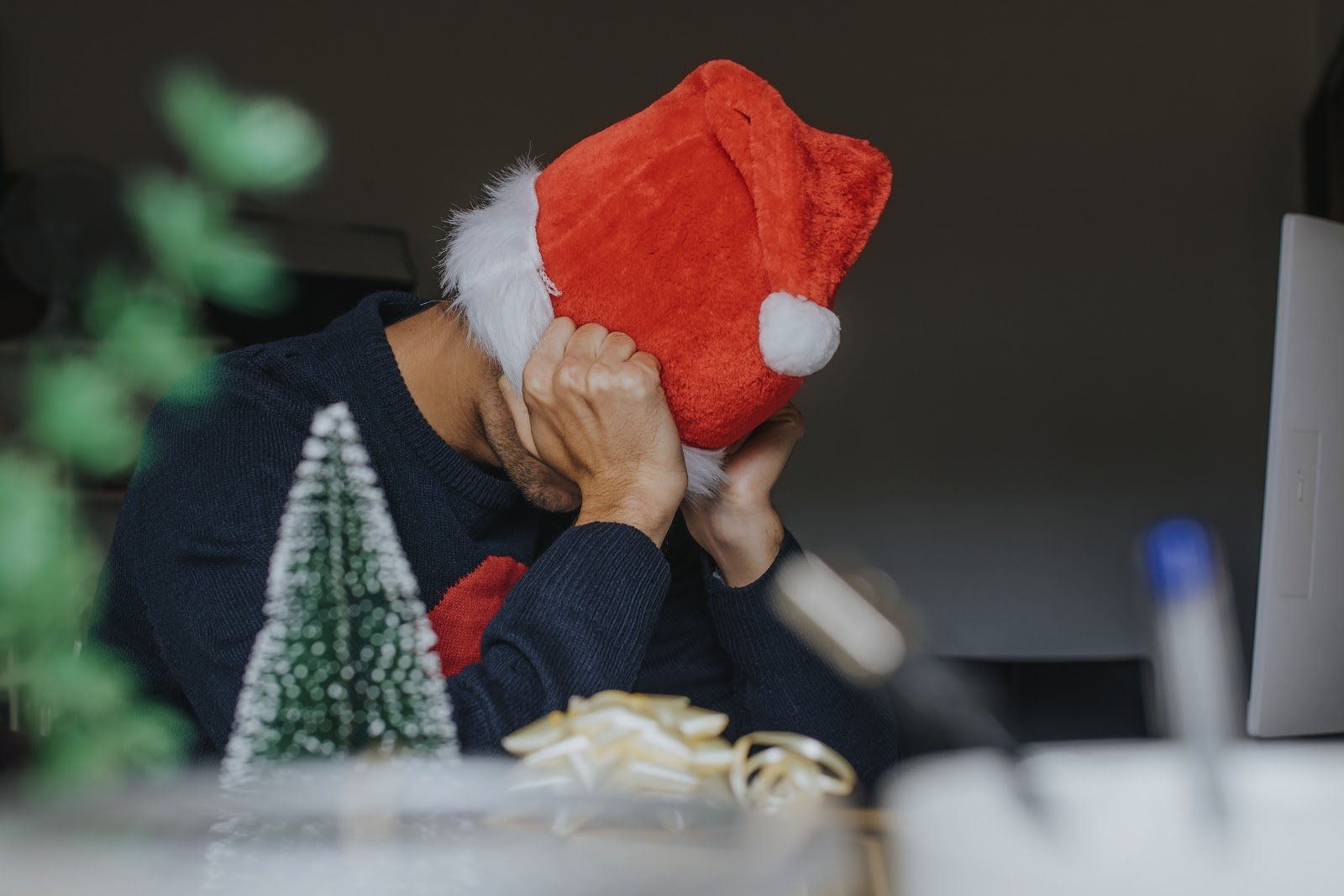 deal with stress at christmas
